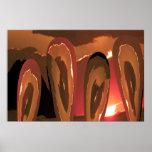 Love n Fire:  Warmth n burning desires Print