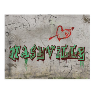 Love Nashville Postcard