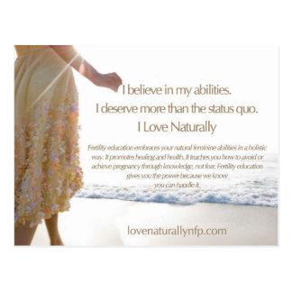 Love Naturally Card