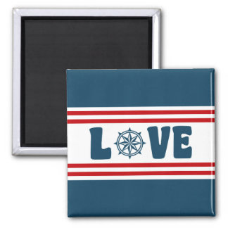Love nautical design magnet