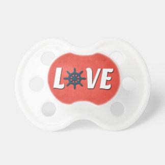 Love nautical design pacifier