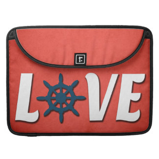 Love nautical design sleeve for MacBooks