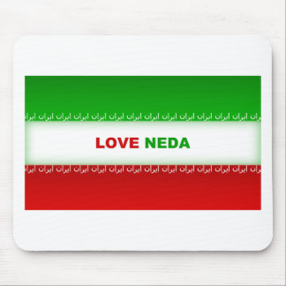 Love Neda Mouse Pad