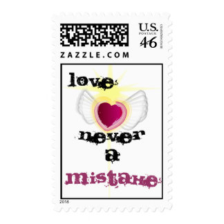 Love Never a Mistake Stamp