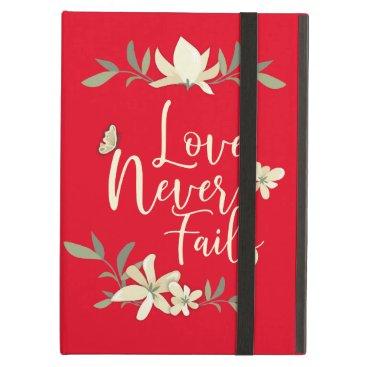 Love Never Fails 2019 JW International Convention Case For iPad Air