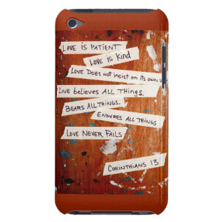 Love Never Fails iPod Touch Cases