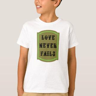 Love Never Fails Kids' Basic Hanes Tagless T-Shirt