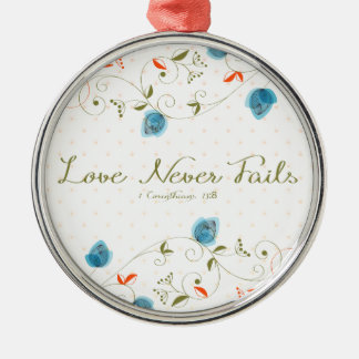 Love Never Fails Ornament