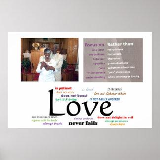 Love Never Fails Poster (32 X 24)