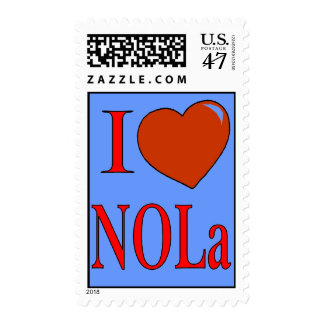 Love New Orleans Postage