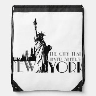 Love New York Drawstring Bag