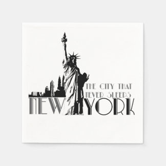 Love New York Paper Napkin