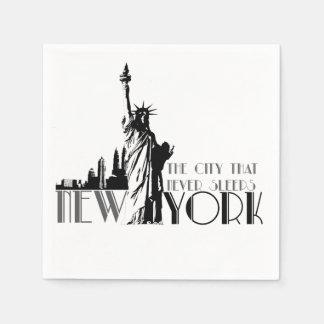 Love New York Paper Napkin