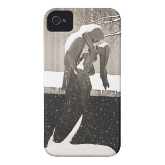 Love - New York Winter iPhone 4 Case-Mate Cases
