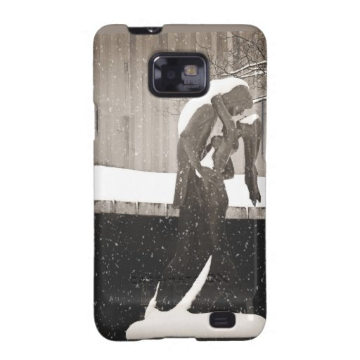 Love - New York Winter Galaxy S2 Case