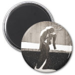 Love - New York Winter Magnets