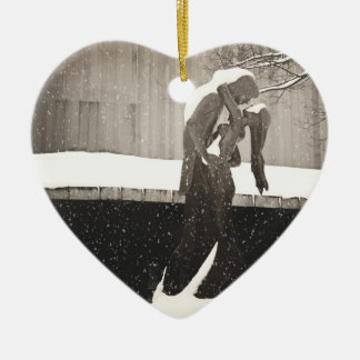 Love - New York Winter Christmas Ornaments