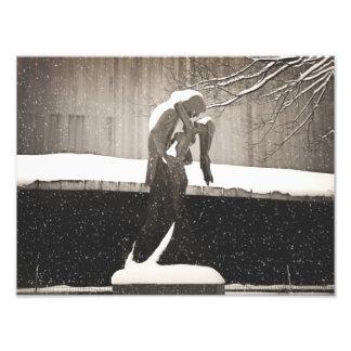 Love - New York Winter Photo Print