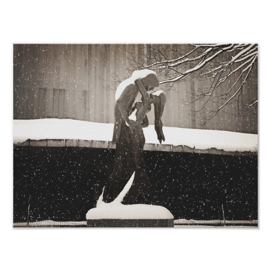 Love - New York Winter Poster