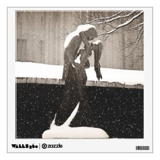 Love - New York Winter Wall Sticker