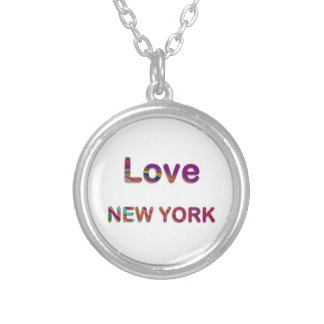 LOVE NewYork NEW York Personalized Necklace