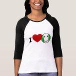 Love Nigeria Smiling Nigerian Flag T-shirt