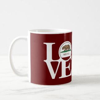 LOVE Nob Hill 11oz Mug Red