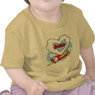 Love Nonna Kids Airplane T-shirts