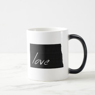 Love North Dakota Magic Mug