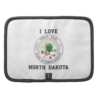 Love North Dakota Folio Planner