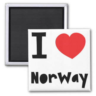 Love Norway Magnet