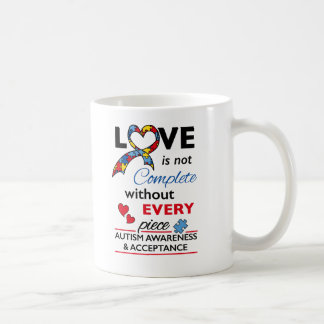 Love Not Complete - Autism Awareness Coffee Mug