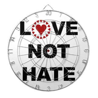 LOVE NOT HATE DART BOARDS