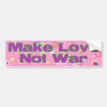 Love Not War Bumper Stickers