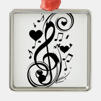 Love Note,Forever Yours_ Metal Ornament