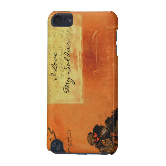 Love Note on the Wall Personalized Military iPod Touch 5G Covers