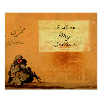 Love Note on the Wall Poster