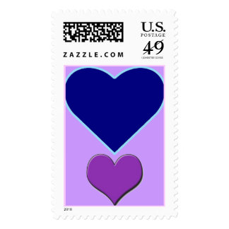 Love Note Postage Stamp