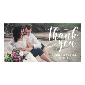 Love Note Wedding Photo Card