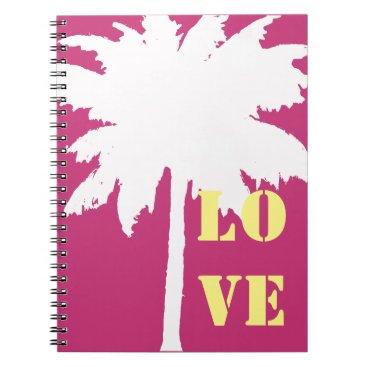 Beach Themed LOVE Notebook