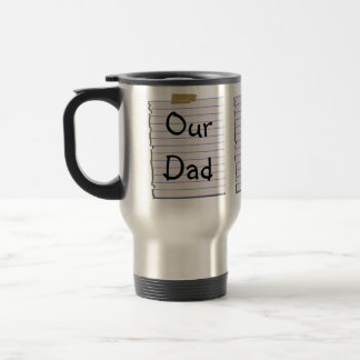 Love Notes For Dad Mug