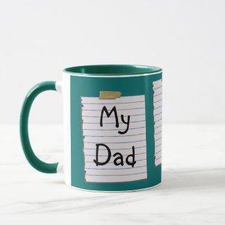 Love Notes For Dad Mug