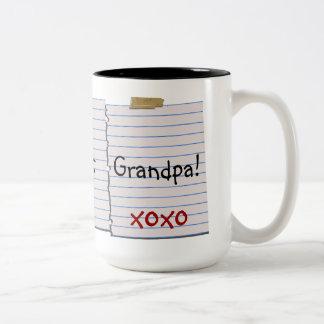 Love Notes For Grandpa Mug
