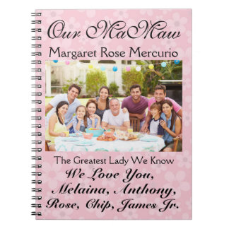 Love Notes For Mother's or Father's Day - srf Spiral Note Book