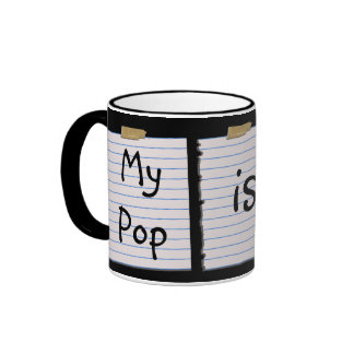 Love Notes For Pop Coffee Mug