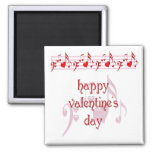 Love Notes Happy Valentine's Day Refrigerator Magnets