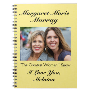 Love Notes to Mother / Grandmother / Wife - SRF Spiral Note Books
