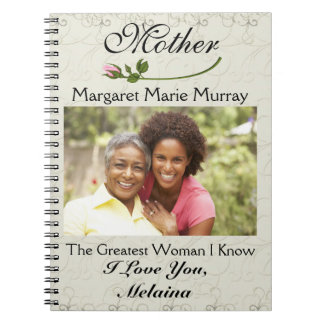 Love Notes to Mother / Grandmother / Wife - SRF Spiral Notebook