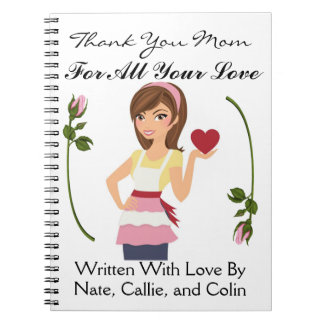 Love Notes to Mother / Grandmother / Wife - SRF Spiral Notebooks
