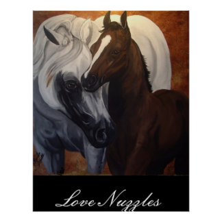 Love Nuzzles Poster